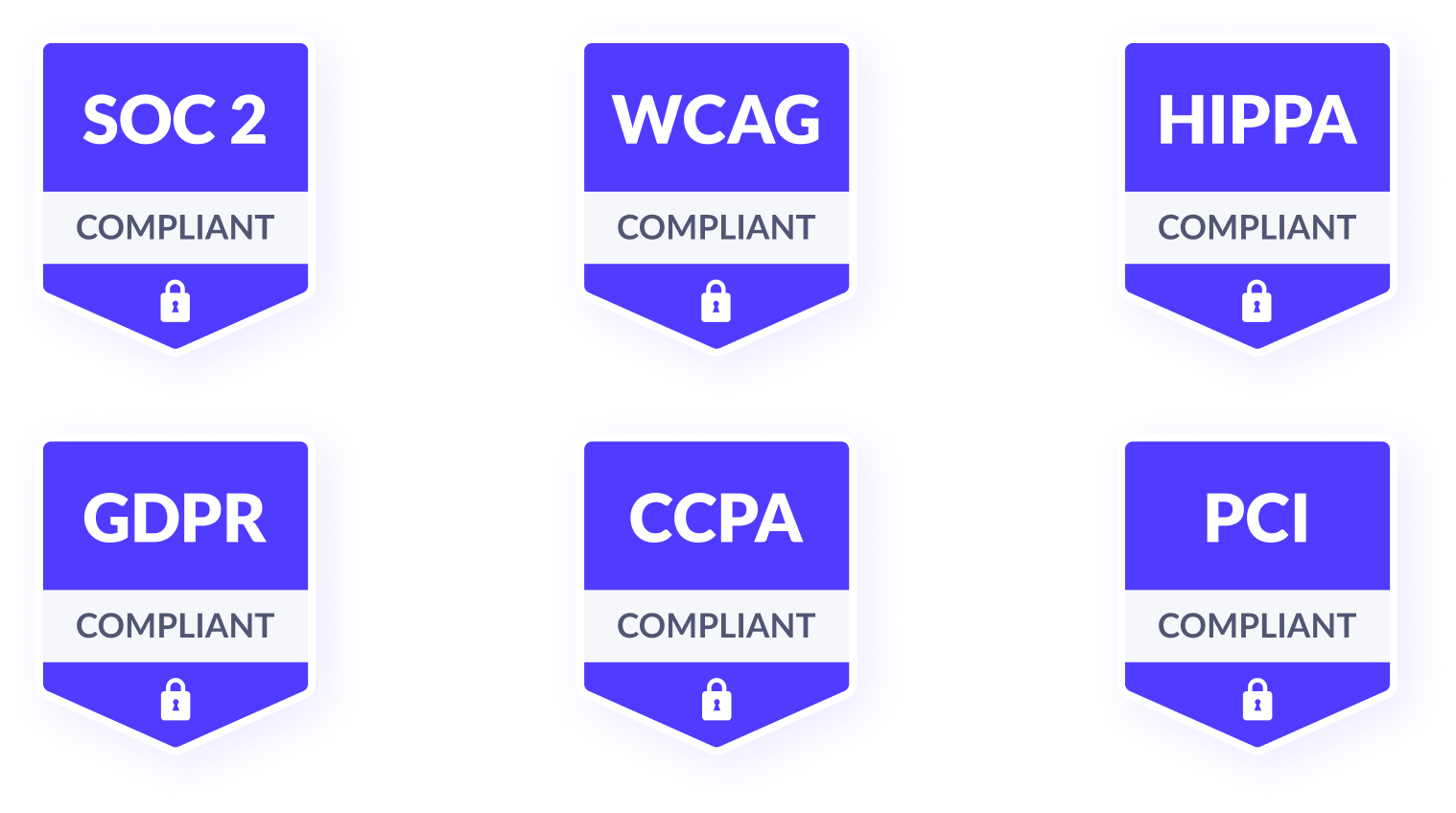 Security Compliance Badges