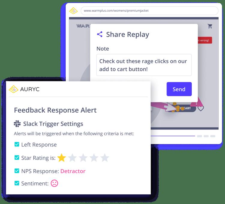 auryc-customer-experience-intelligence-platform-session-replay-communication-collaboration