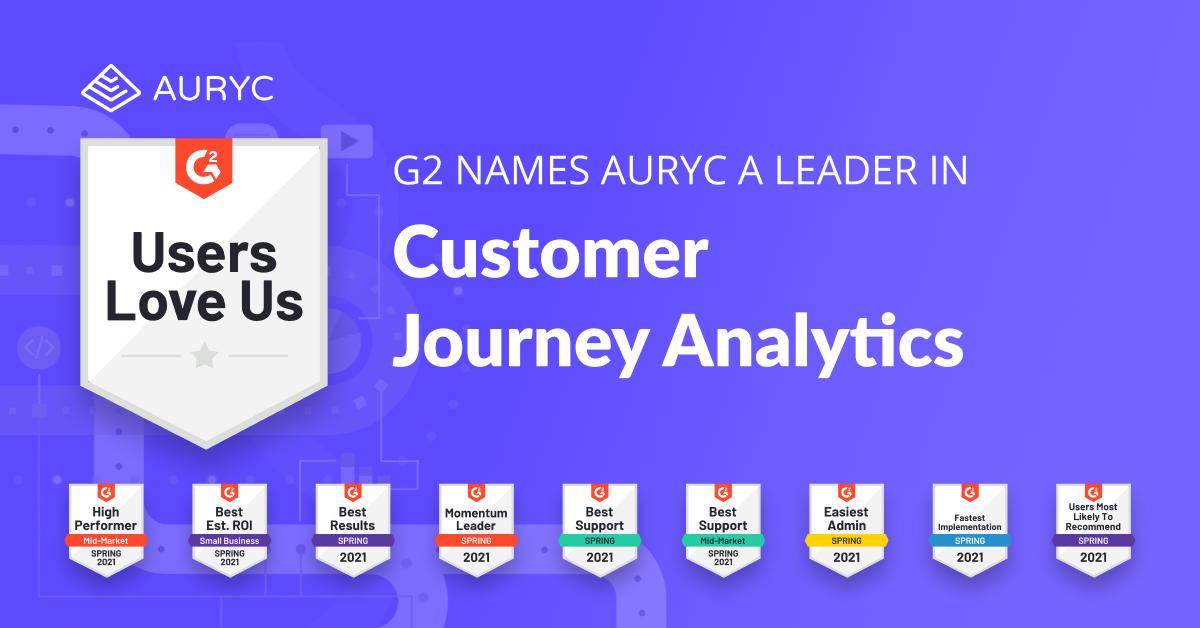 customers-choose-auryc-for-customer-journey-analytics-customer-experience-platform-g2-2021-Spring